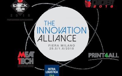 APPUNTAMENTO DAL 4 AL 7 MAGGIO 2021 CON PLAST, IPACK-IMA, MEAT-TECH, PRINT4ALL E INTRALOGISTICA ITALIA