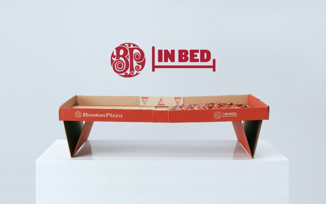 IL PACKAGING DEL MESE: BP IN BED