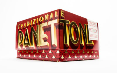 PANETTONI 2018: IL PACKAGING E' RETRO ED EFFETTO REGALO