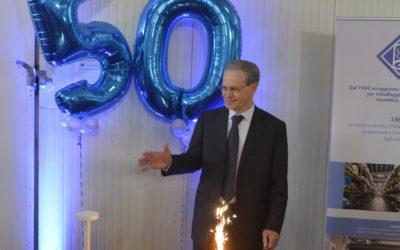 50 ANNI E NON SENTIRLI: LAMINATI CAVANNA SPA FESTEGGIA IL MEZZO SECOLO