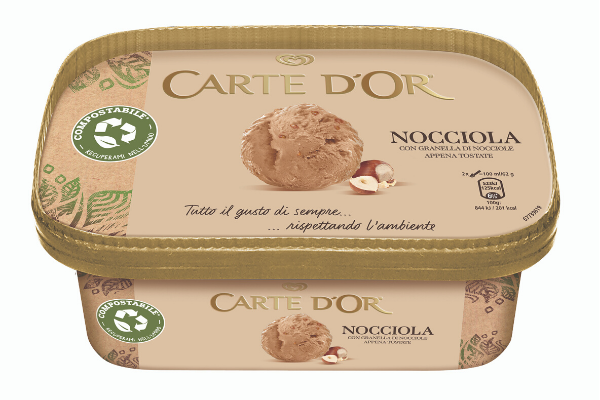 Vaschetta compostabile per il gelato | Seda International Packaging Group & Unilever