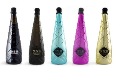 Bottiglia Ice Black Santero | Verallia